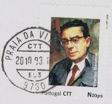 Vitorino Nemésio - selo