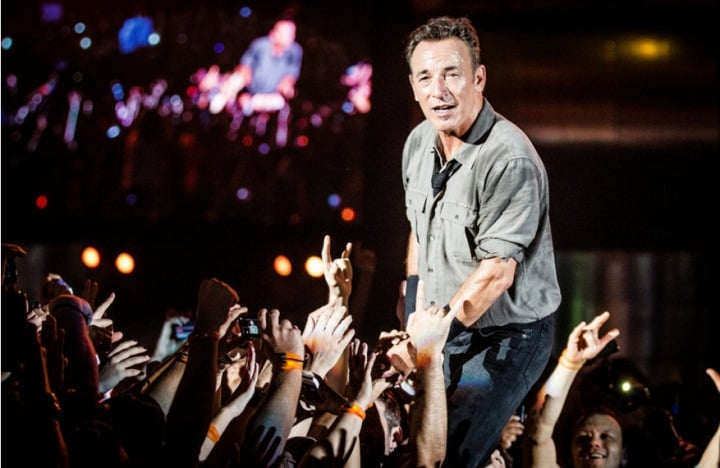 #brucespringsteen  - Bruce Springsteen & The E Street Band no Rock In Rio-Lisboa -@BLITZ Artes & contextos Bruce Springsteen
