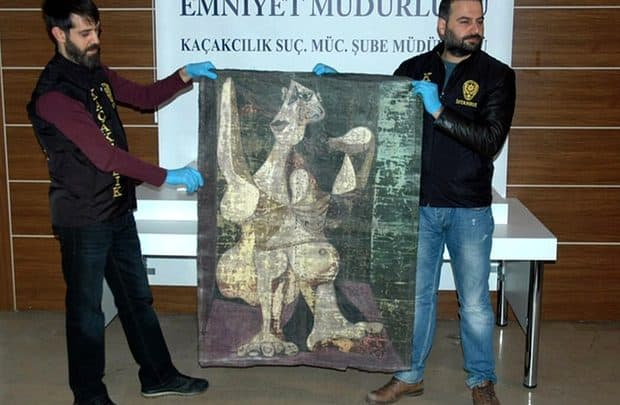 #pablopicasso - Turkey police recover stolen Picasso in Istanbul, state-run Anatolia news agency reported - @artdaily.org Artes & contextos turkey police recover stolen picasso in istanbul state run anatolia news agency reported