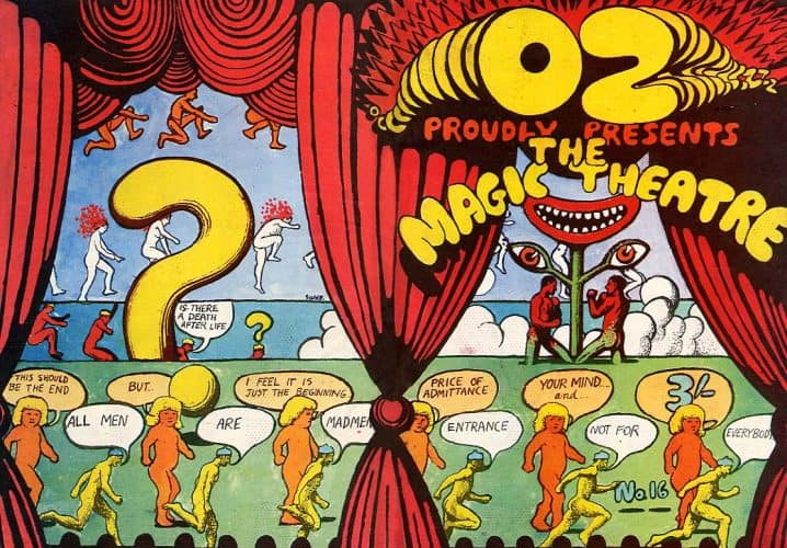 """#ozmagazine - Download the Complete Archive of Oz, """"the Most Controversial Magazine of the 60s,"""" Featuring R. Crumb, Germaine Greer & Mor e - @Open Culture Artes & contextos OZ4"""