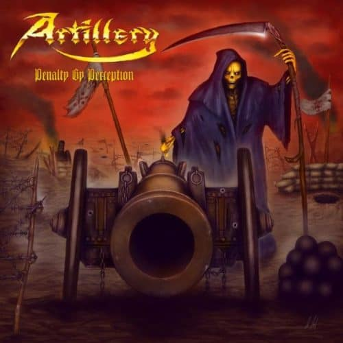 #artillery - ARTILLERY: Entire 'Penalty By Perception' Album Available For Streaming Artes & contextos artillerypenaltycd 0