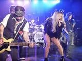 #hollywoodvampires - Flashback: See Kesha Sing Led Zeppelin With Alice Cooper, Johnny Depp - @Rolling Stone Artes & contextos flashback see kesha sing led zeppelin with alice cooper johnny depp