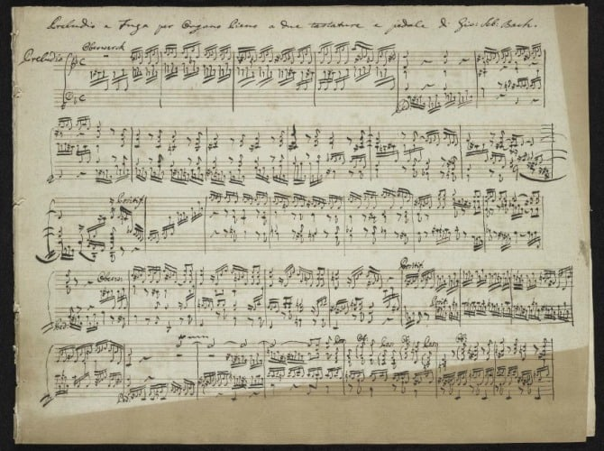 #musicmanuscripts - Free: Download 500+ Rare Music Manuscripts by Mozart, Bach, Chopin & Other Composers from the Morgan Library - @Open Culture Artes & contextos free download 500 rare music