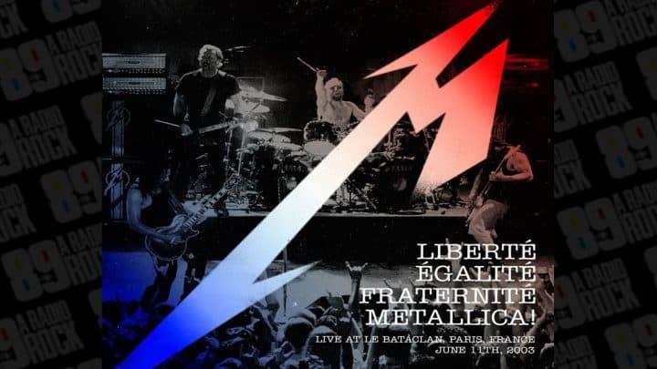 #metallica - Ouça faixa do novo álbum ao vivo dos Metallica - @RadioRock Artes & contextos metallica bataclan full