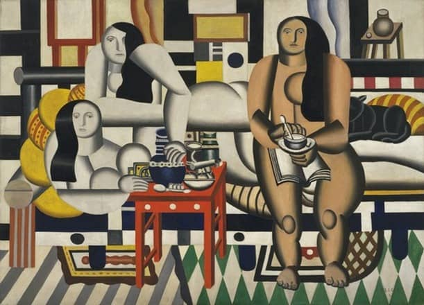 #modernart - The Museum of Modern Art (MoMA) Puts Online 65,000 Works of Modern Art - @Open Culture Artes & contextos three women by leger