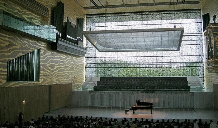 Entre pautas e estiradores Artes & contextos Casa da Musica interior