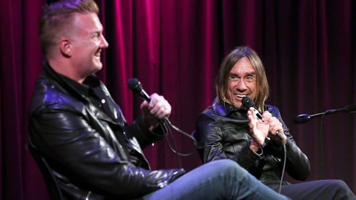 10 Things We Learned From Iggy Pop and Josh Homme's Grammy Museum Talk - @Rolling Stone #iggypop Artes & contextos Iggy Pop II