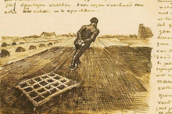 A Complete Archive of Vincent van Gogh's Letters: Beautifully Illustrated and Fully Annotated - @Open Culture #vincentvangogh #vangogh Artes & contextos a complete archive of vincent