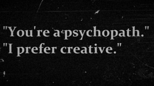 New Study Reveals Artists Share Common Traits with Psychopaths - @artnet news #artistsarepsychopaths Artes & contextos creativity vs psychopathy
