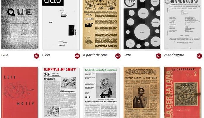 10 Digital Editions of Surrealist Journals from Argentina, Chile & Spain (1928-67) - @Open Culture Artes & contextos Jornais Surrealistas