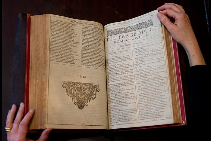 Rare Shakespeare first edition sold for nearly £2m - @artdaily.org Artes & contextos Shakespeare II