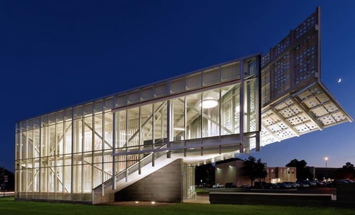 Davis-Harrington Welcome Center / Dake Wells Architecture - @archdaily Artes & contextos Dake Wells