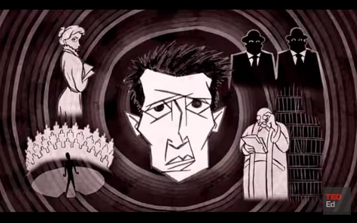 What Does Kafkaesque Really Mean? A Short Animated Video Explains - @Open Culture Artes & contextos Kafkaesque