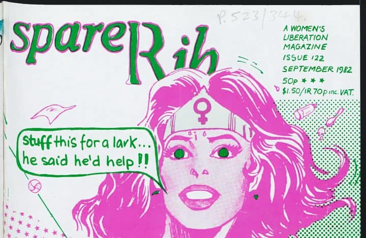 Download All 239 Issues of Landmark UK Feminist Magazine Spare Rib Free Online - @Open Culture Artes & contextos spare rib