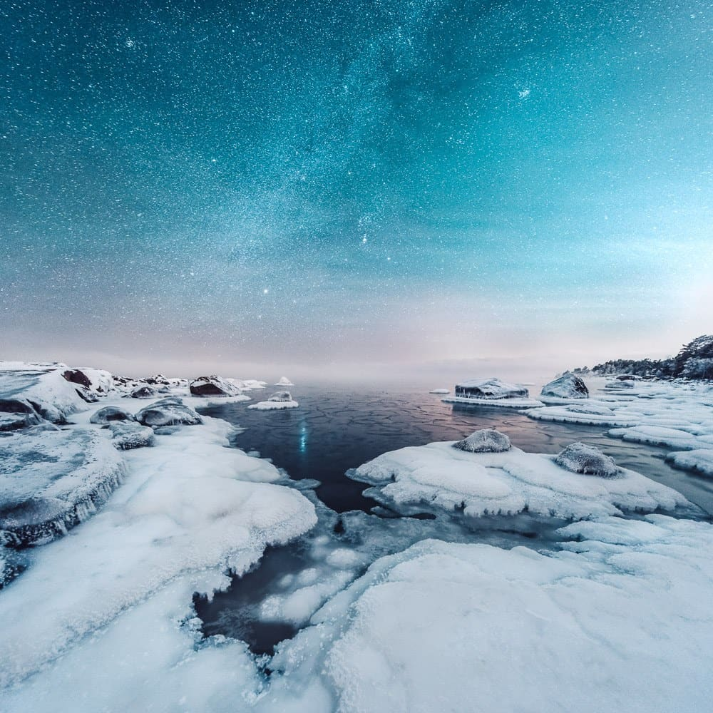 Paisagens da Finlandia e Islândia por Mikko Lagerstedt Artes & contextos Finland Iceland Through Multiple Exposure Landscapes by Mikko Lagerstedt 2