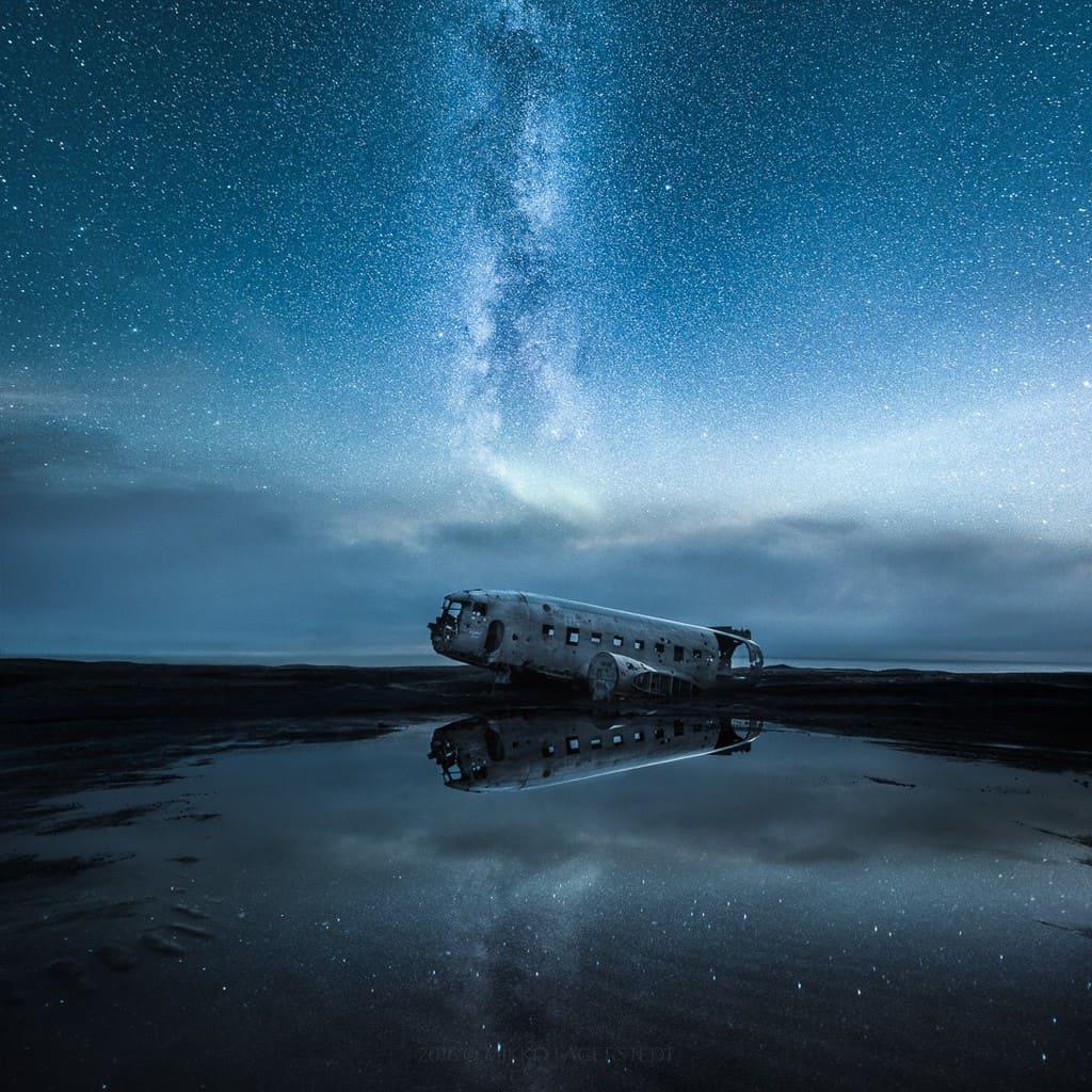 Paisagens da Finlandia e Islândia por Mikko Lagerstedt Artes & contextos Finland Iceland Through Multiple Exposure Landscapes by Mikko Lagerstedt 3