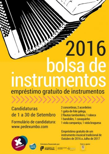 Bolsa de Instrumentos Pé de Xumbo