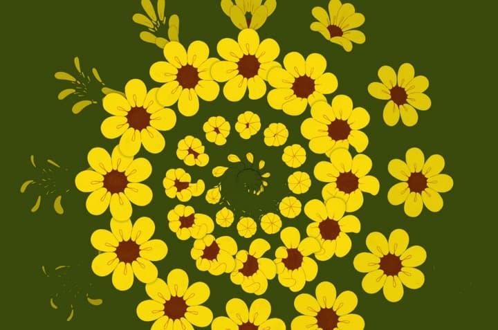 Kaleidoscopic GIFs by Anna Taberko