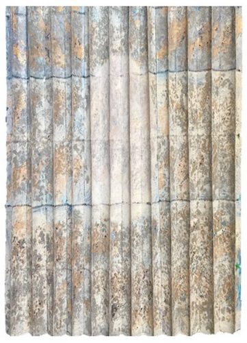 Miguel Barros Sulcos/Furrows Artes & contextos Sulcos 1 Óleo s Folha ouro prata cobre s papel