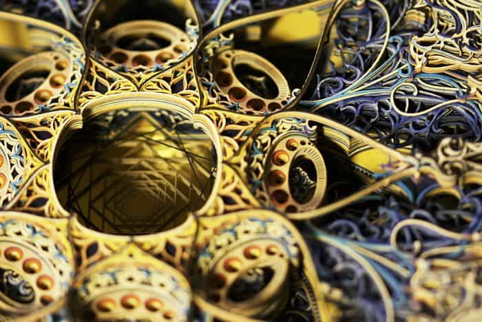 Artworks Created From Layers of Laser-Cut Paper