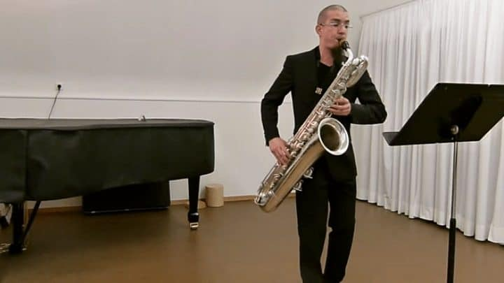 Bach Suite Performed on Baritone Saxophone