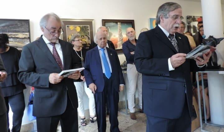 Os Diretores do MAC - Zeferino Silva e Álvaro Lobato de Faria