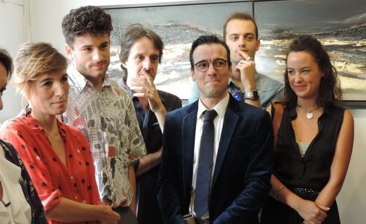 Os premiados Lúcia Moniz, Valter Mira, Nuno Feist, Henrique Feist, Mariana Pacheco