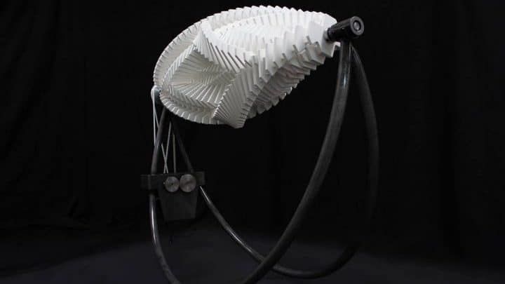 A Dizzying New Kinetic Sculpture by Jennifer Townley