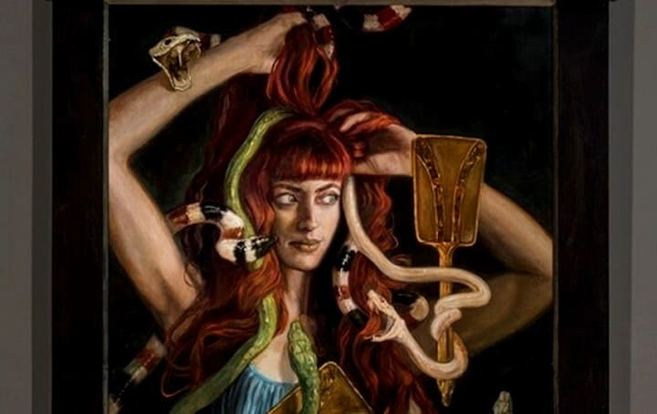 Paintings Dpicting 'The Seven Deadly Sins' by Gail Potocki
