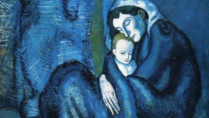 Periodo blu di Pablo Picasso – Sai i segreti, le fonti e le ossessioni dell'esordio parigino? Artes & contextos azuis picasso mother and child 1902 blg
