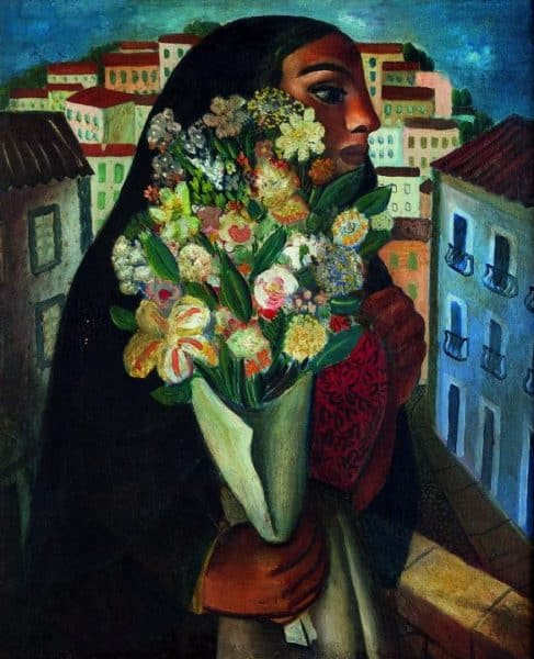 Modernismo Brasileiro no Museu Colecção Berardo Artes & contextos DI CAVALCANTI MULATA COM FLORES