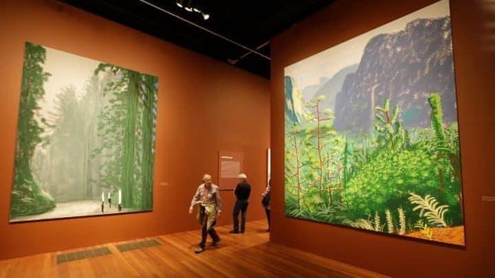 David Hockney – Il grande pittore dipinge sull'Ipad