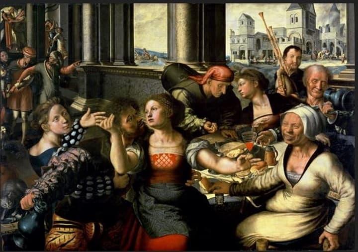 Il Figliol prodigo nell'arte – Piaceri sfrenati sulla tela