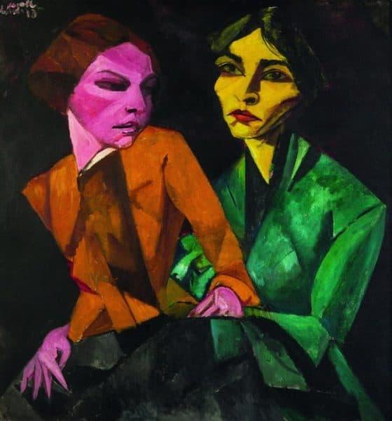 Modernismo Brasileiro no Museu Colecção Berardo Artes & contextos LASAR SEGALL DUAS AMIGAS 3