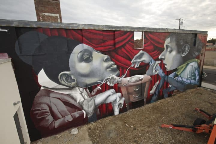 Murals from Ethos in Switzerland and USA