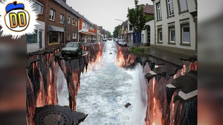 20 Pieces of Impossible 3D Street Art