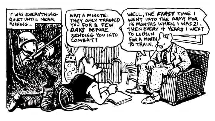 How Art Spiegelman Designs Comic Books