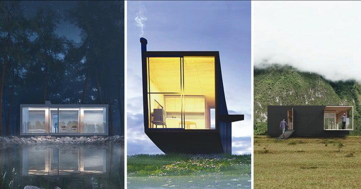 4 Tiny Houses
