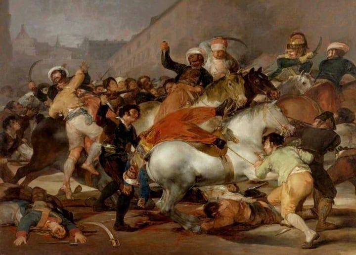 Goya la angustiosa mirada de un trágico 2 de mayo