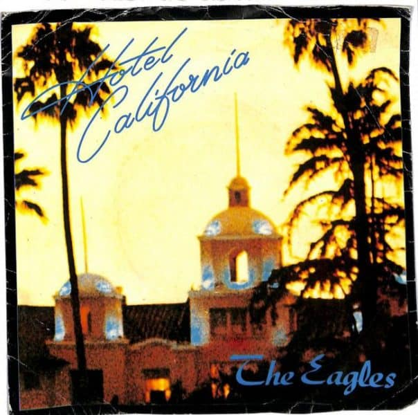 Eagles Hotel California Single