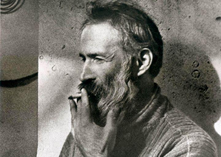 Constantin Brancusi by Man Ray 1933