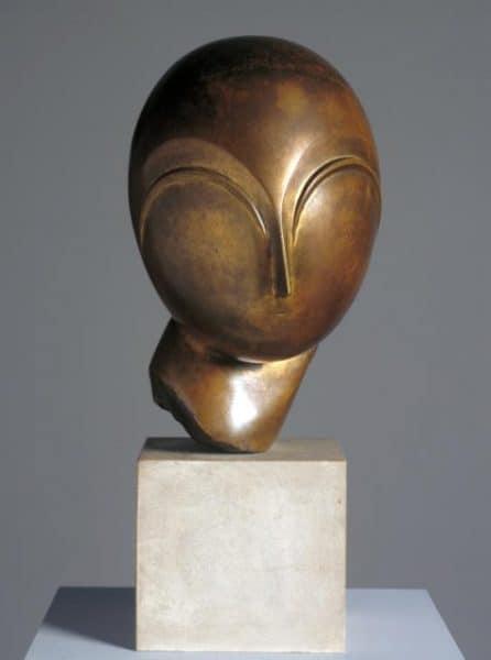 Danaide c.1918 by Constantin Brancusi 1876-1957