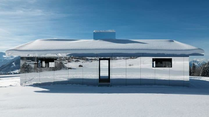 Mirrored House