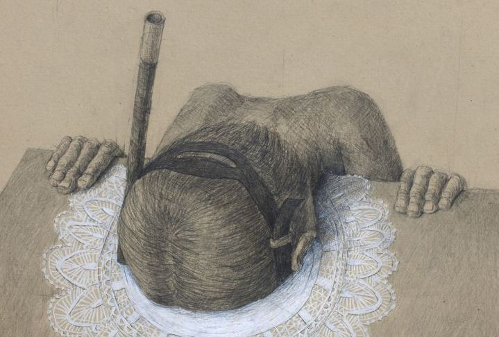 Solitary Worlds Explored in New Psychological Drawings by Stefan Zsaitsits