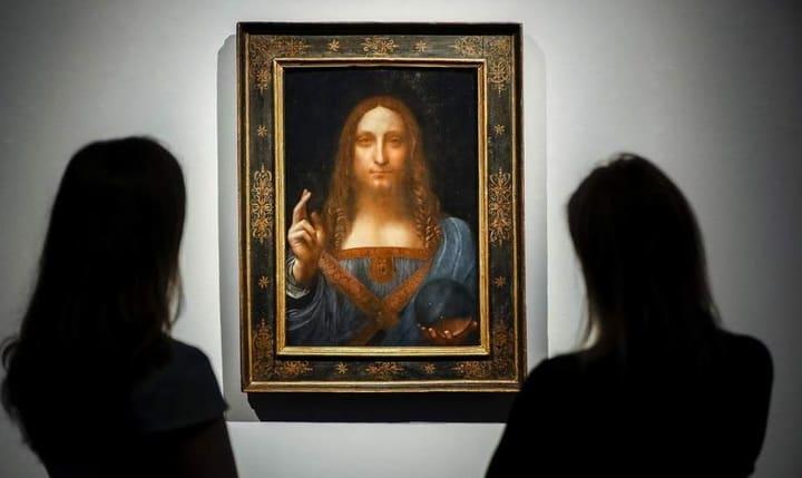 Salvator Mundi Leonardo da Vinci ©AFP/Getty Images