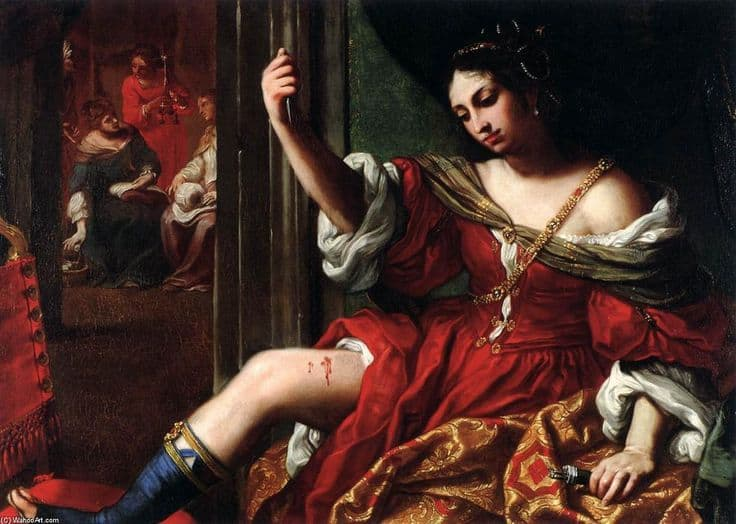 What is Art? Why is Art Important? Artes & contextos Porcia wounding her thigh by Elisabetta Sirani.