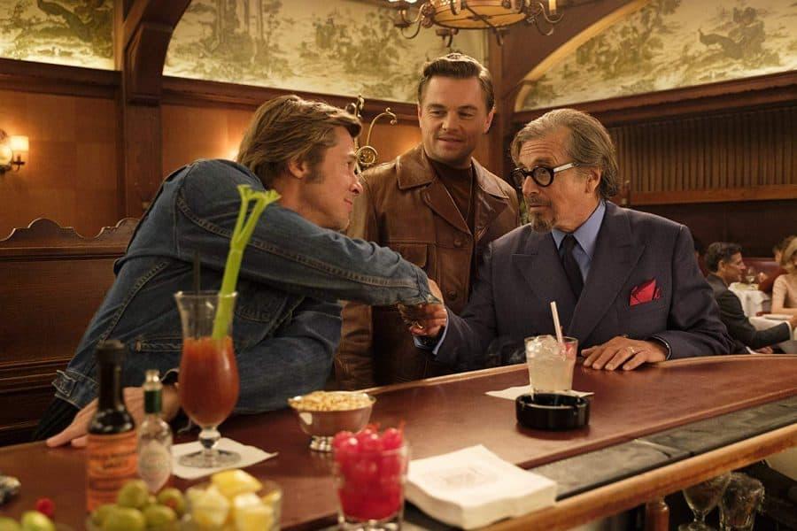 Once Upon a Time in Hollywood - Brad Pitt, Leonardo DiCaprio e Al PLacino