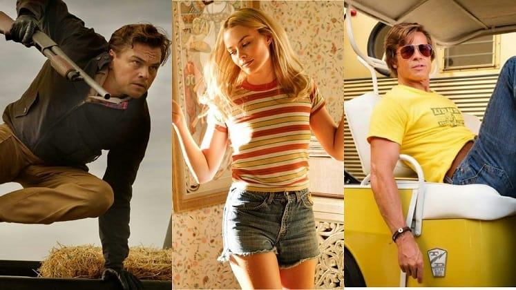 Once Upon a Time in Hollywood - Leonardo DiCaprio, Margot Robbie e Brad Pitt