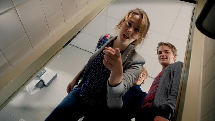Desculpa! - Charlotte Bakker (Sanne) e Rick van Elk (Remco) Bullying