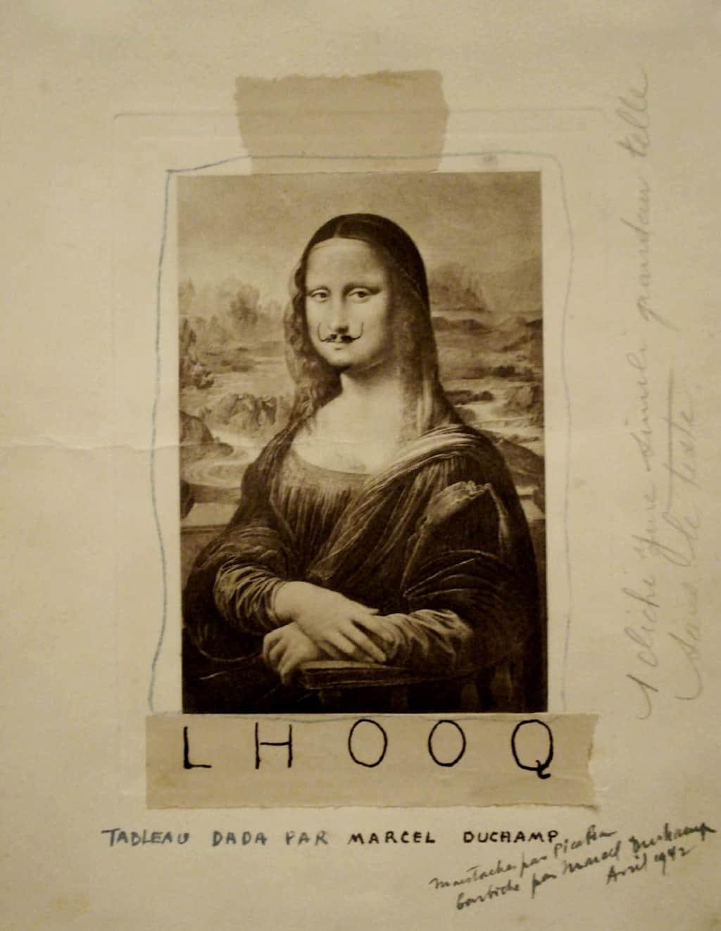 What is Dadaism or Dada Art? Artes & contextos Marcel Duchamp 1919 L.H.O.O.Q
